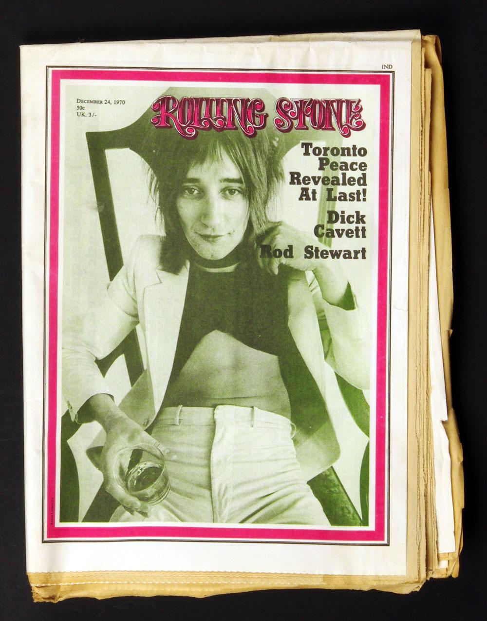 Rolling Stone Magazine 1970 Dec 24 No.73 Rod Stewart