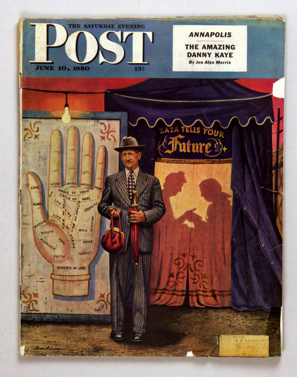 The Saturday Evening Post 1950 Jun 10 Fortune Teller by Dohanos