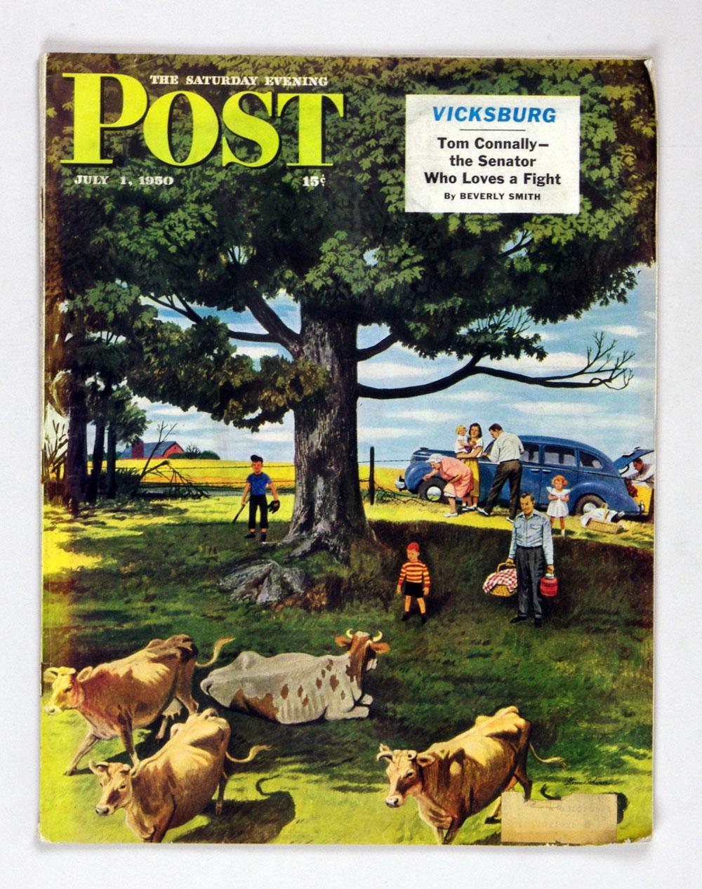 The Saturday Evening Post 1950 Jul 1 Pasture Picnic