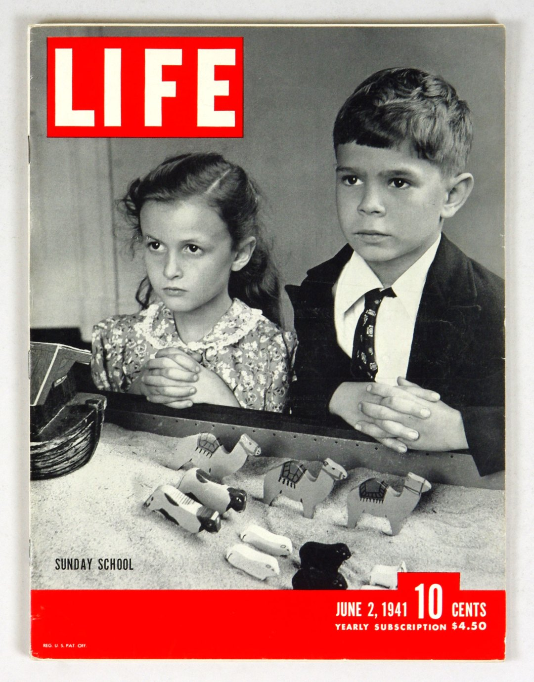 LIFE Magazine 1941 June 2 Sunday School
