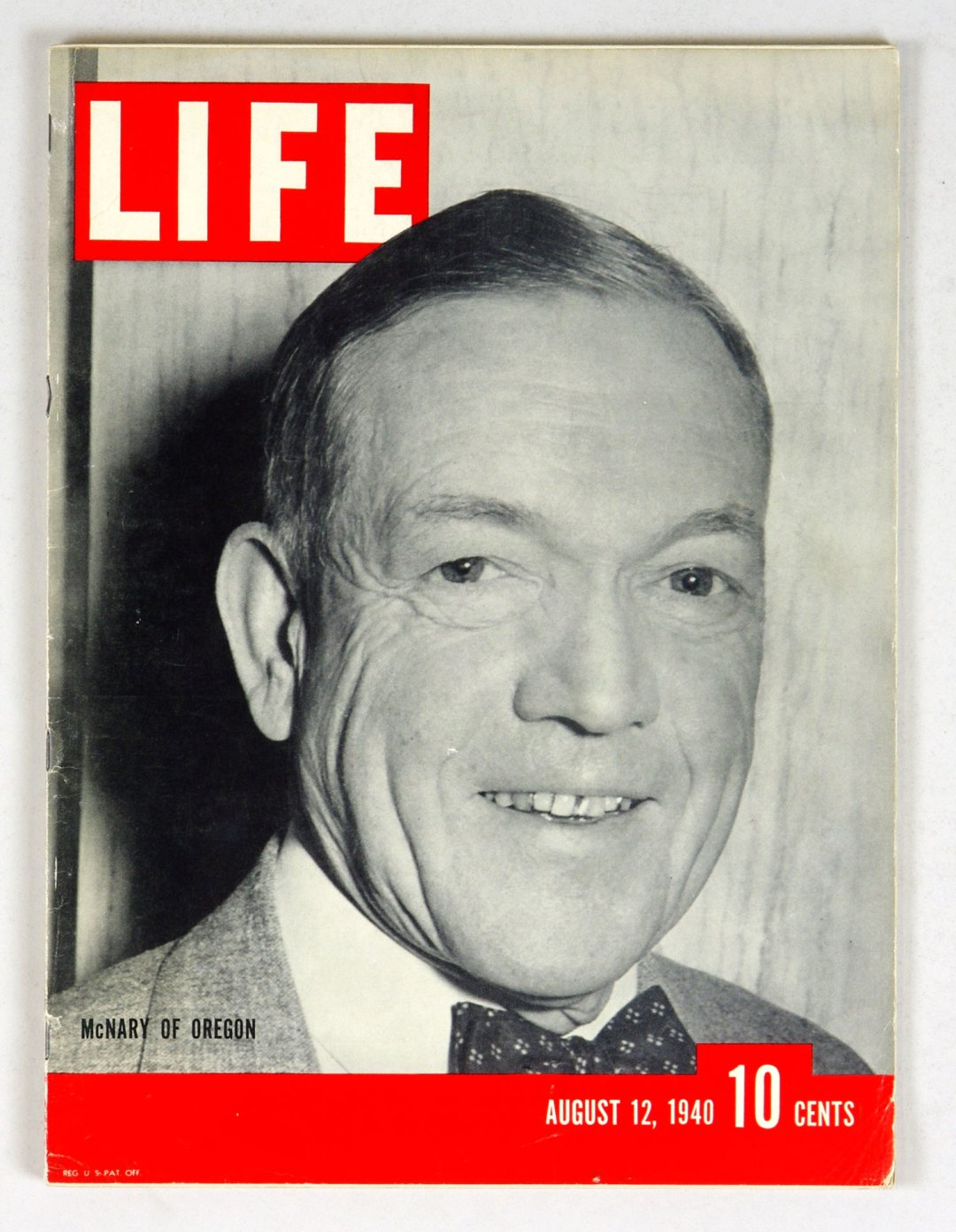 LIFE Magazine 1940 August 12 Vice President Nominee McNary