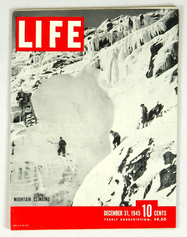 LIFE Magazine 1945 December 31 Mountain Climbing