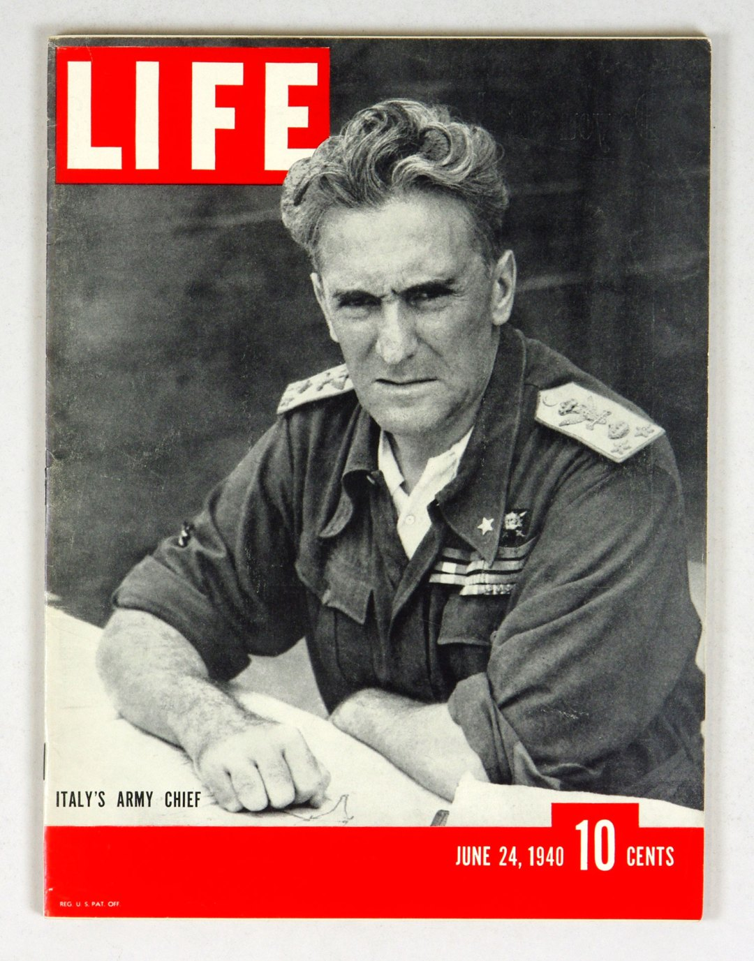 LIFE Magazine 1940 June 24 Italy's Army Chief
