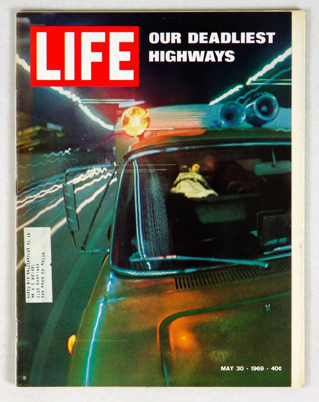 LIFE Magazine 1969 May 30 Our Deadliest Highways