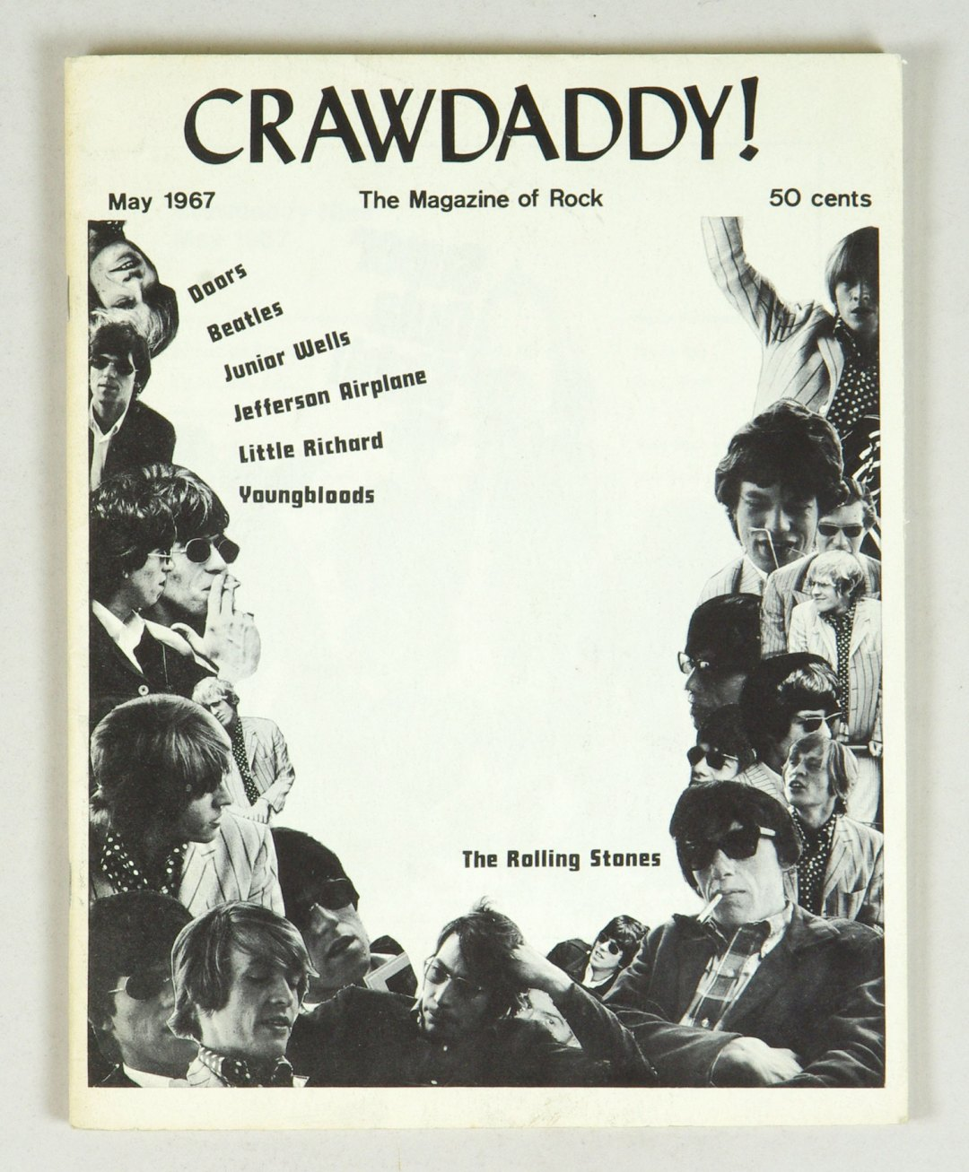 Crawdaddy The Magazine of Rock back issue 1967 May The Rolling Stones