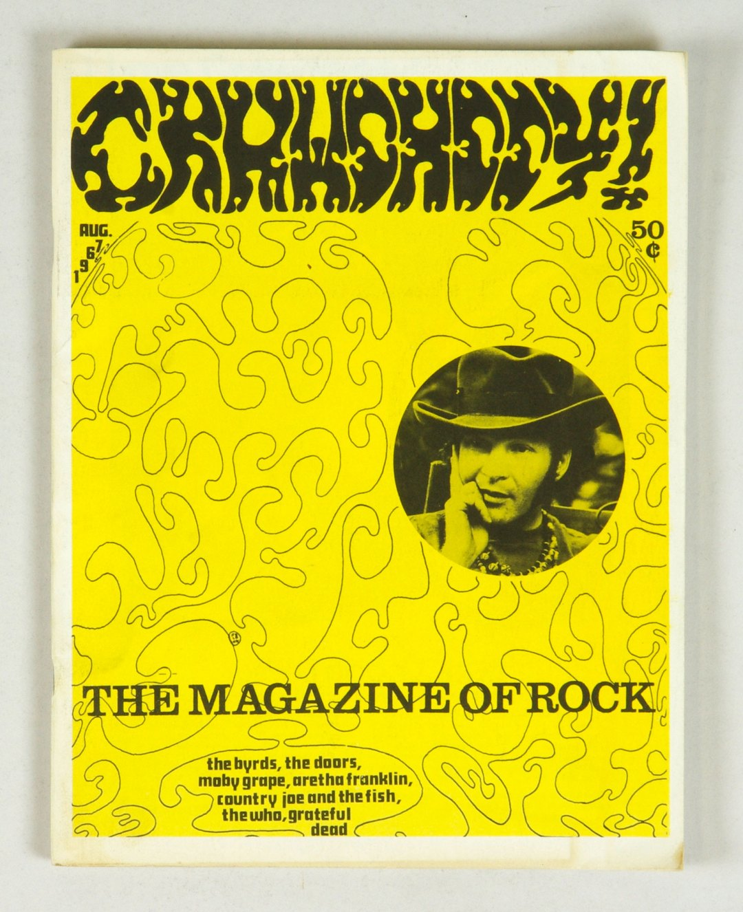 Crawdaddy The Magazine of Rock back issue 1967 August Paul Rothchild The Doors