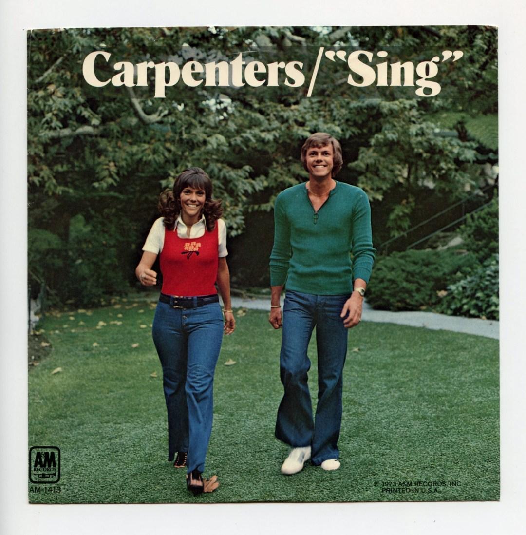 Carpenters Vinyl 1973 Sing