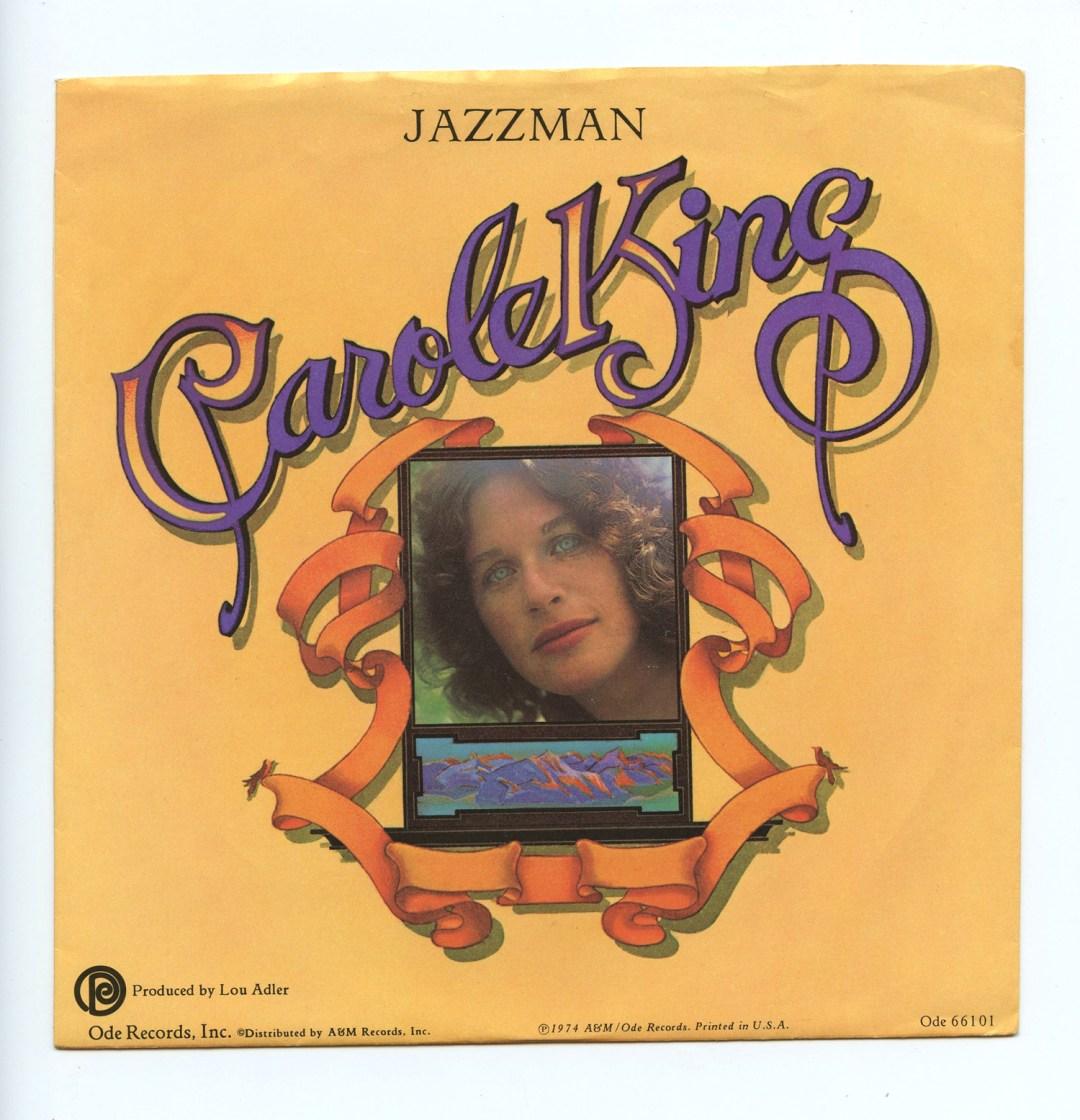 Carole King Jazzman Vinyl Singles 7