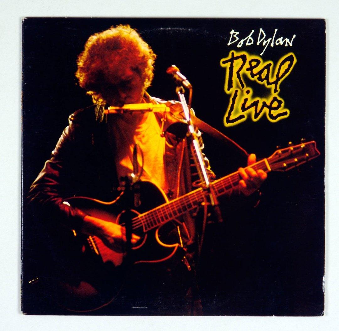 Bob Dylan Real Live Vinyl LP 1984