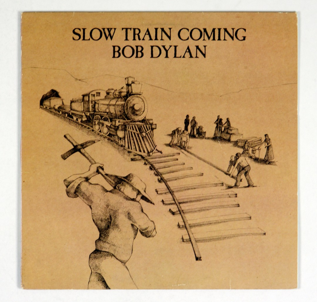 Bob Dylan Slow Train Coming Vinyl LP 1979 For Promotional only