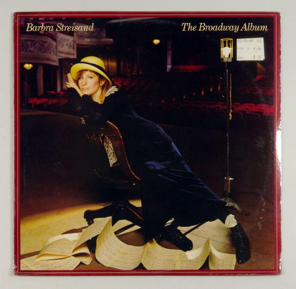 Barbra Streisand The Broadway Vinyl LP Sealed NEW 1985