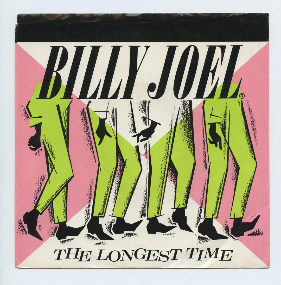 Billy Joel The Longest Time Vinyl Singles 7