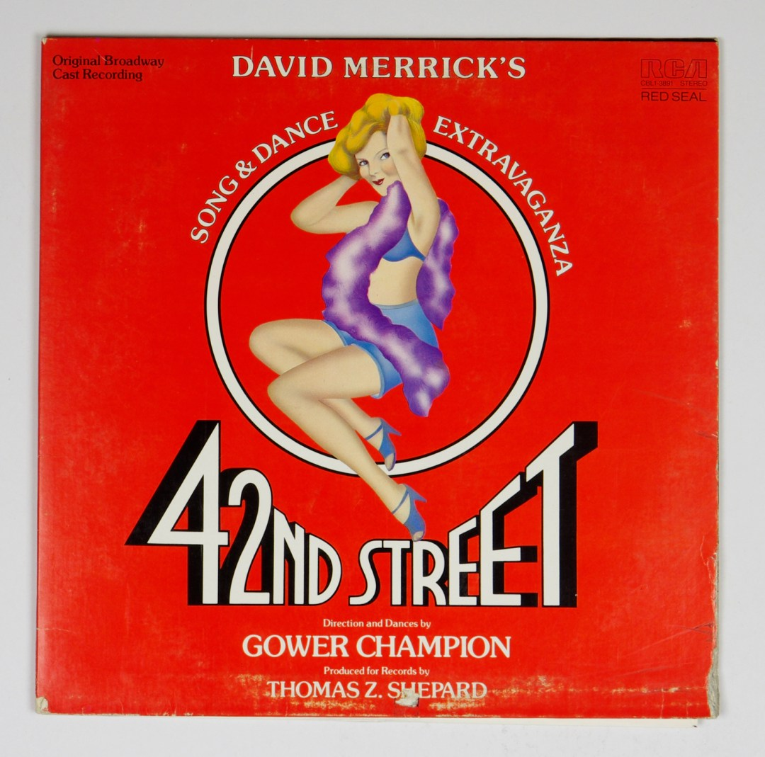 42nd Street Vinyl LP Original Broadway Cast 1980