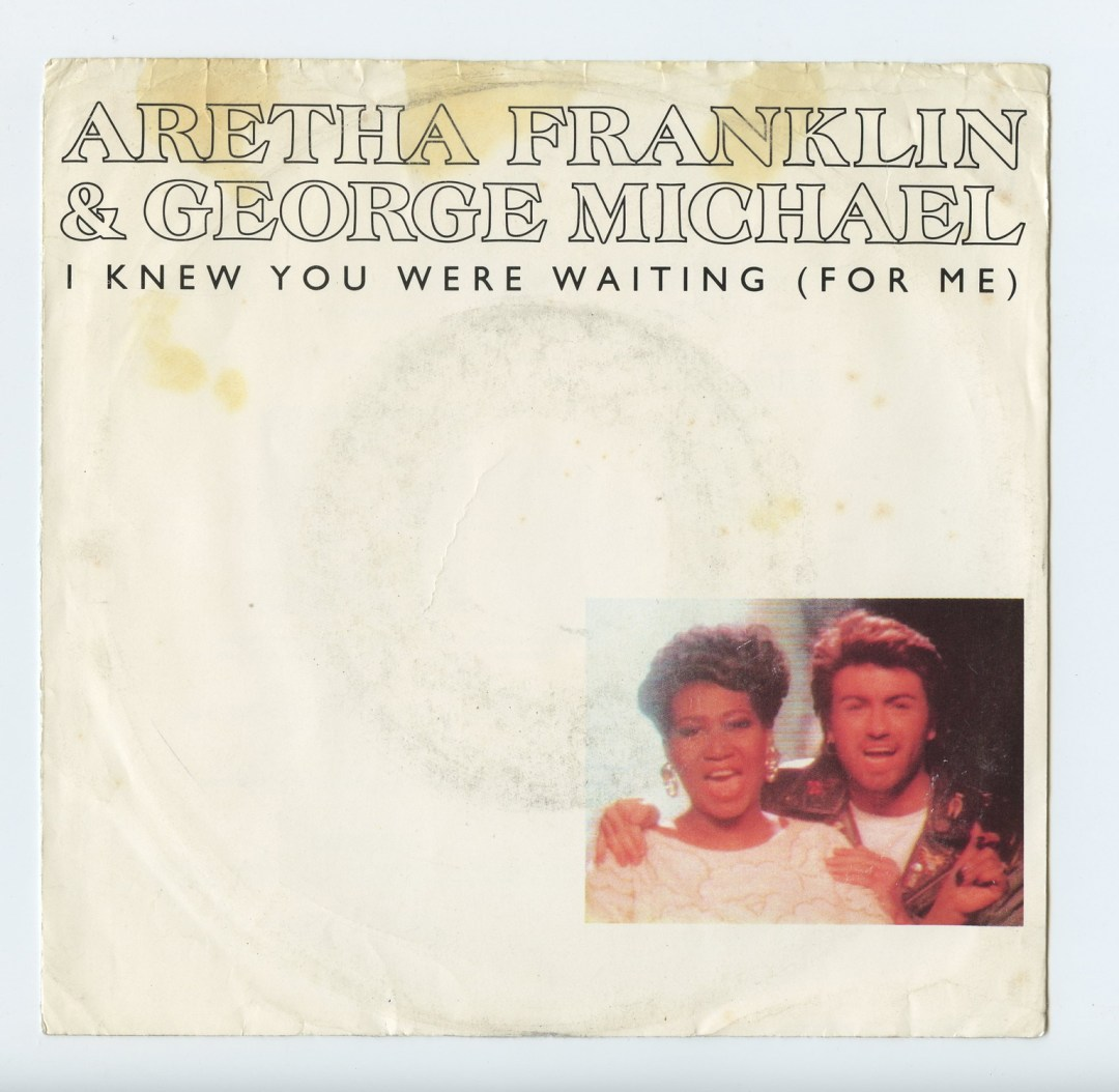 Aretha Franklin George Michael I knew You were waiting Vinyl Singles 7