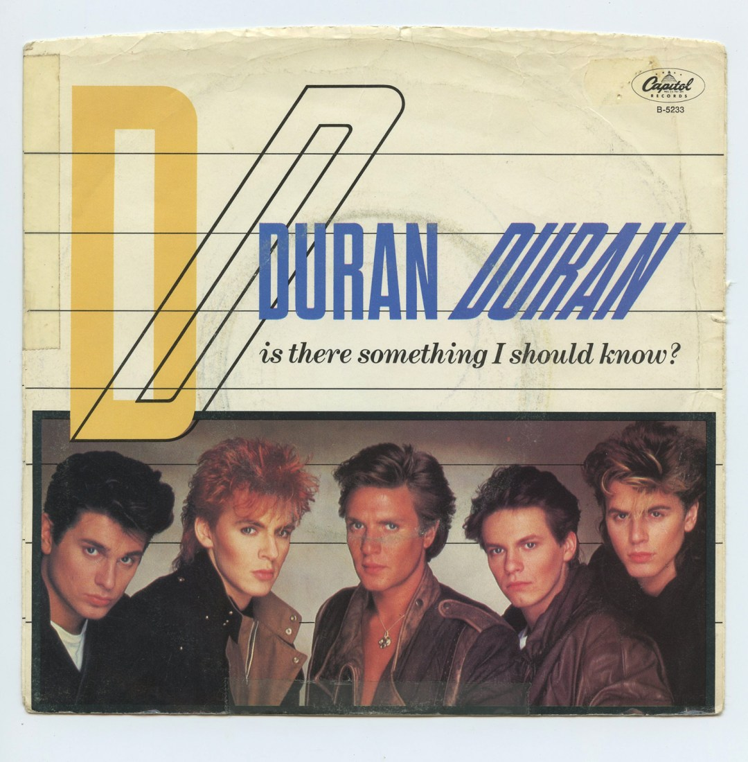 Duran Duran Vinyl Is There Something I Should Know? 1983