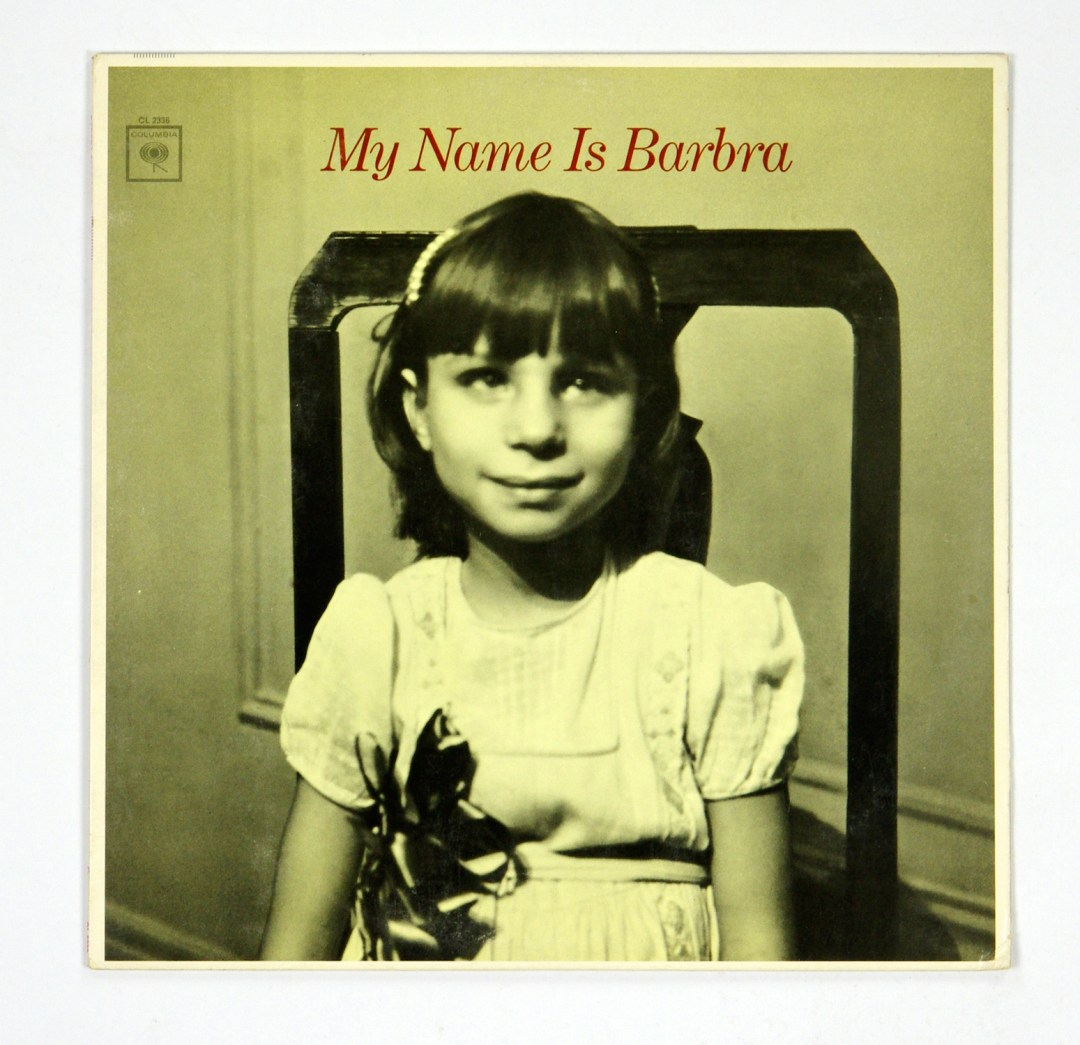 Barbra Streisand Vinyl LP My Name Is Barbra 1965