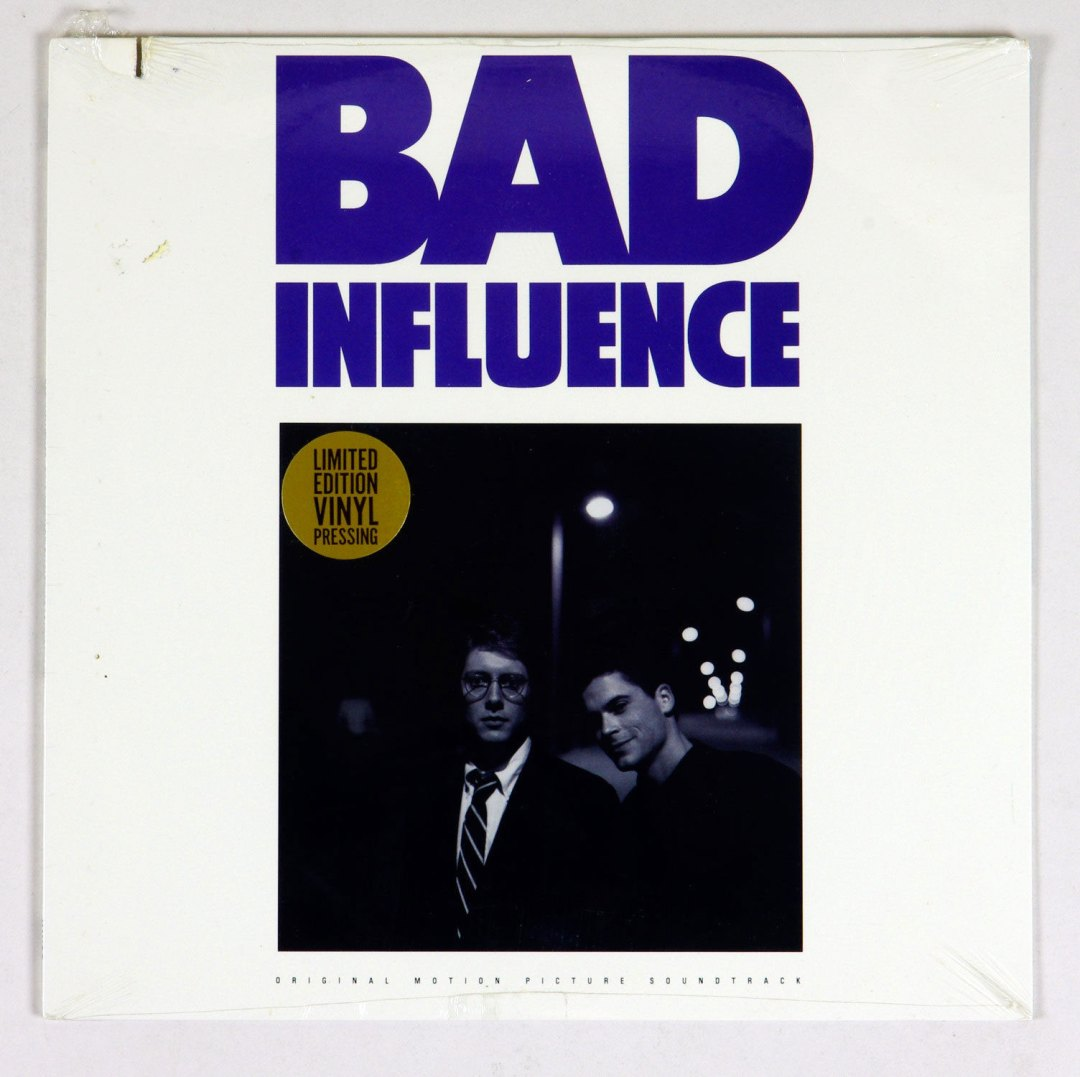 Bad Influence OST Vinyl LP Sealed NEW 1990