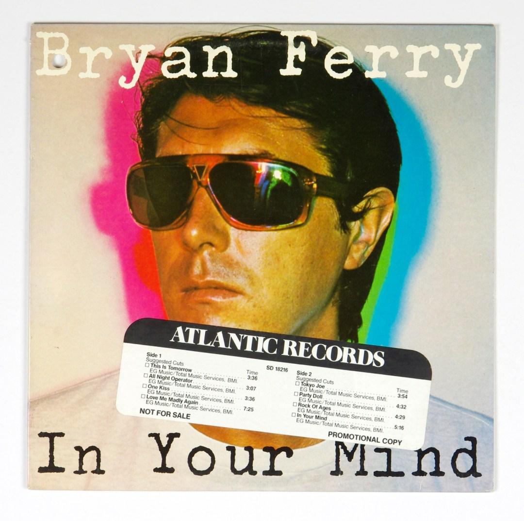 Bryan Ferry In Your Mind Vinyl LP Promotion Copy 1977