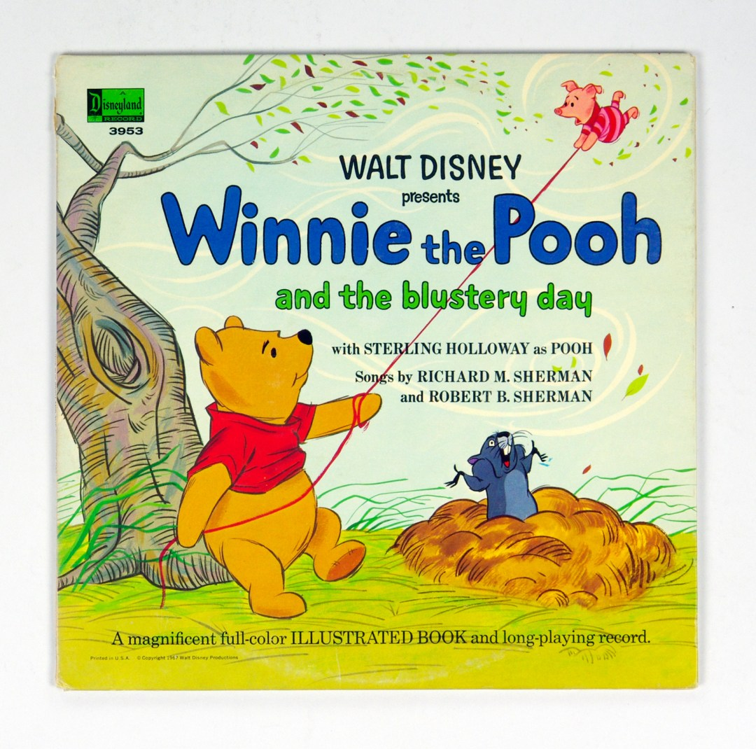 Walt Disney Presents Winnie The Pooh And The Blustery Day Vinyl LP Gatefold 1967