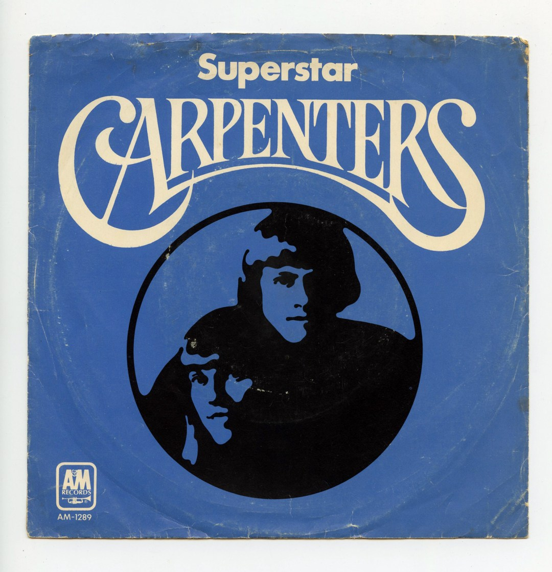 Carpenters Vinyl Superstar 1971