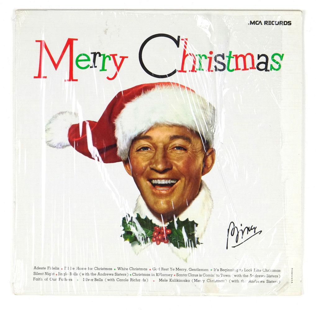Bing Crosby Merry Christmas Vinyl LP 1973