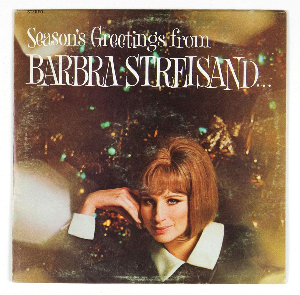 Barbra Streisand Vinyl LP Season's Greetings And Friends 1969