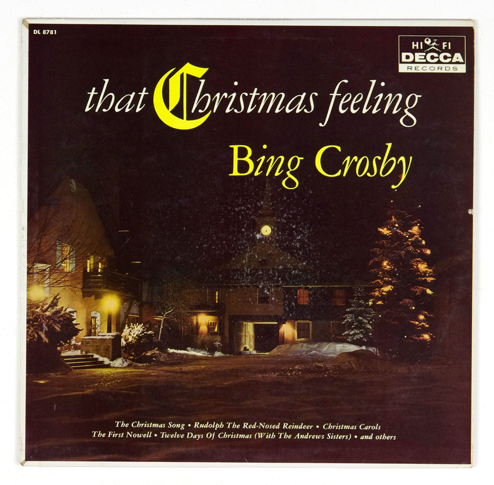 Bing Crosby Vinyl LP 1960 That Christmas Feeling