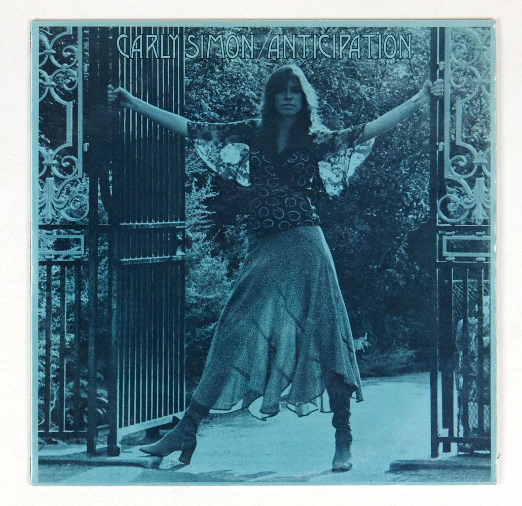 Carly Simon Anticipation Vinyl LP 1971