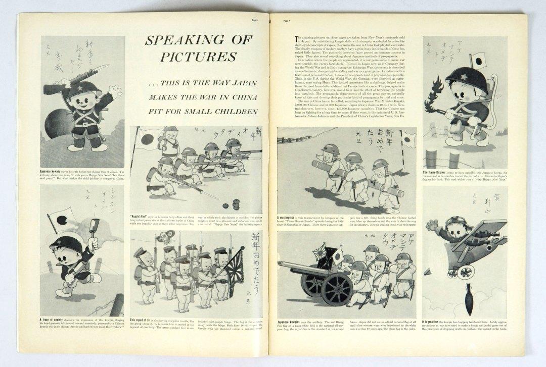 LIFE Magazine 1939 February 6 Washington Peruke