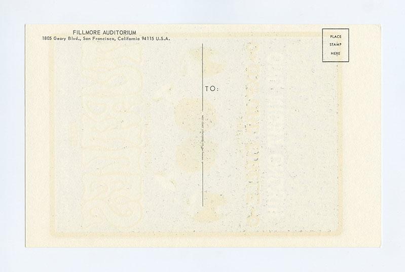 Bill Graham  15 Postcard Turtles Oxford Circle 1966 Jul 6