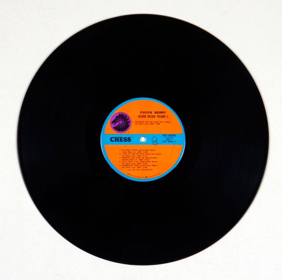 Chuck Berry Vinyl LP Golden Decades Volume 3 1967 Gatefold