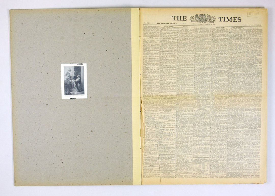 LONDON Times 1945 April July August Bound Books set of 3 The End of World War II