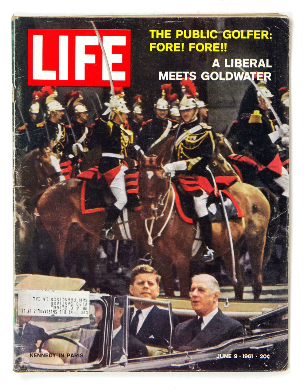 LIFE Magazine 1961 June 9 John F Kennedy in Paris