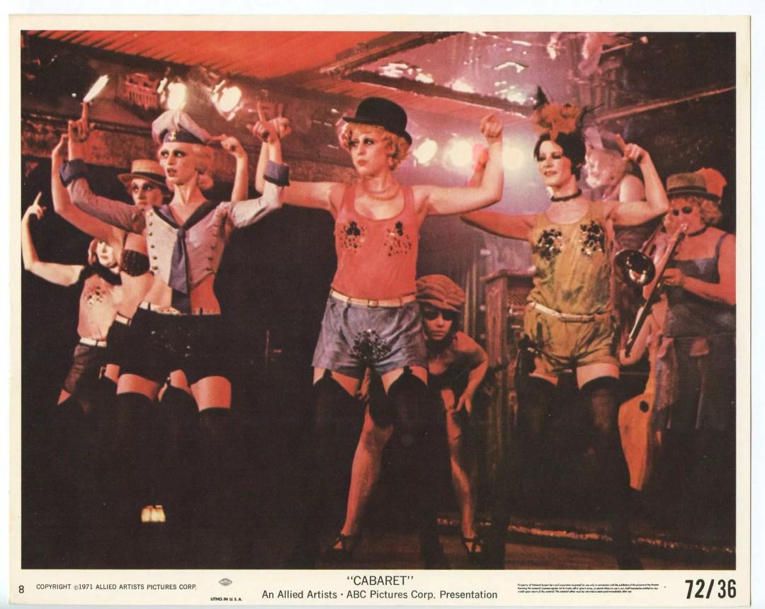 Liza Minnelli CABARET 1972 Lobby Card