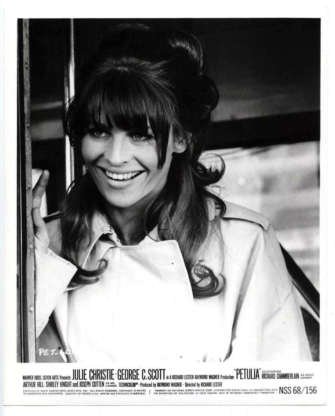 Julie Christie 1968 Petulia Lobby Card 8x10
