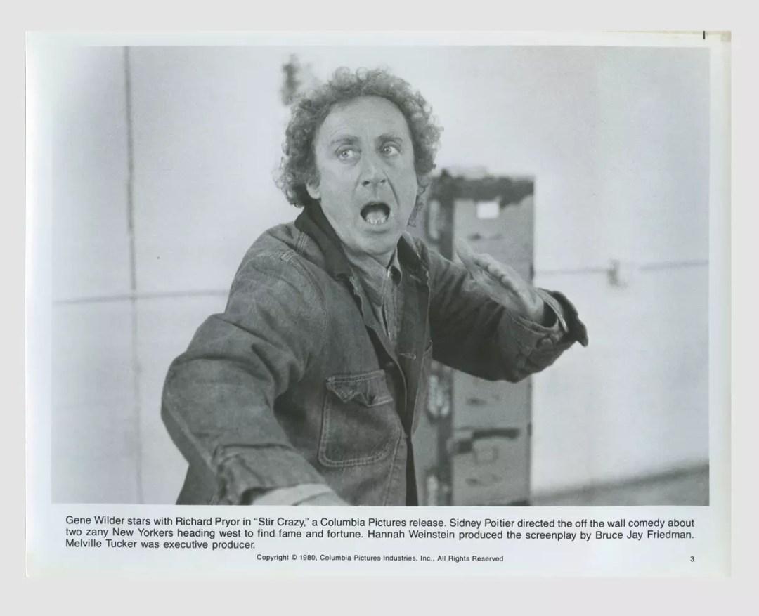 Gene Wilder 1980 Stir Crazy Lobby Card 8x10