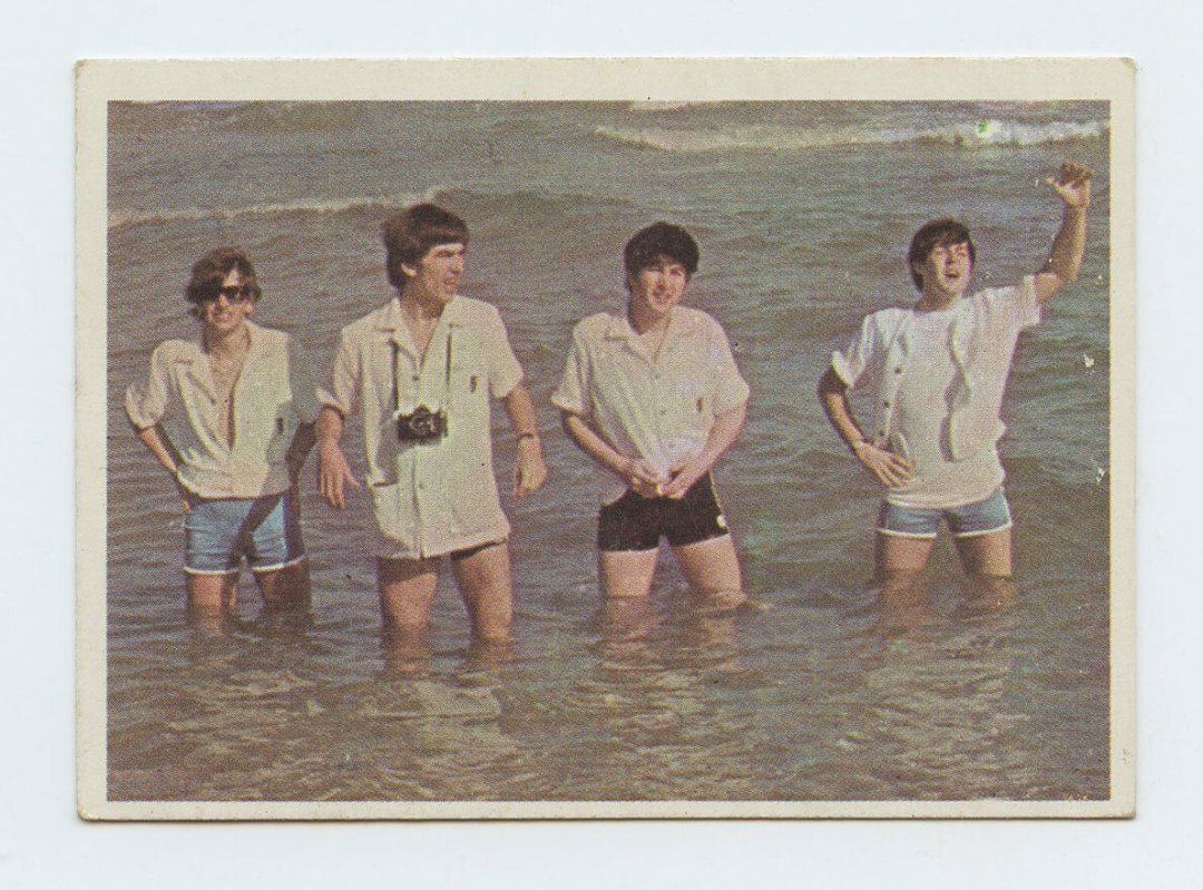 The Beatles Card 1964 Topps Color #18
