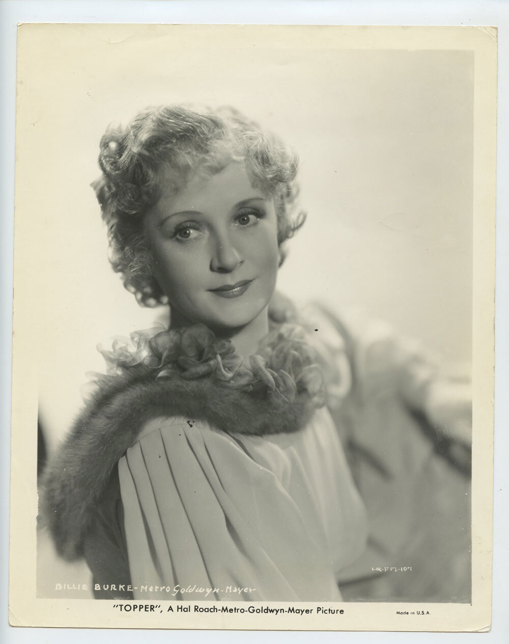 Billie Burke Photo 1937 Topper