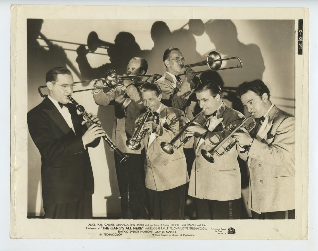 Benny Goodman Photo King of Swing 1941 The Gang's All Here