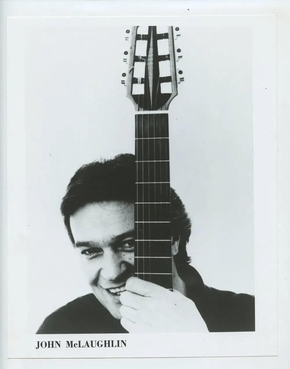 John McLaughlin Photo 1970s Publicity Promo