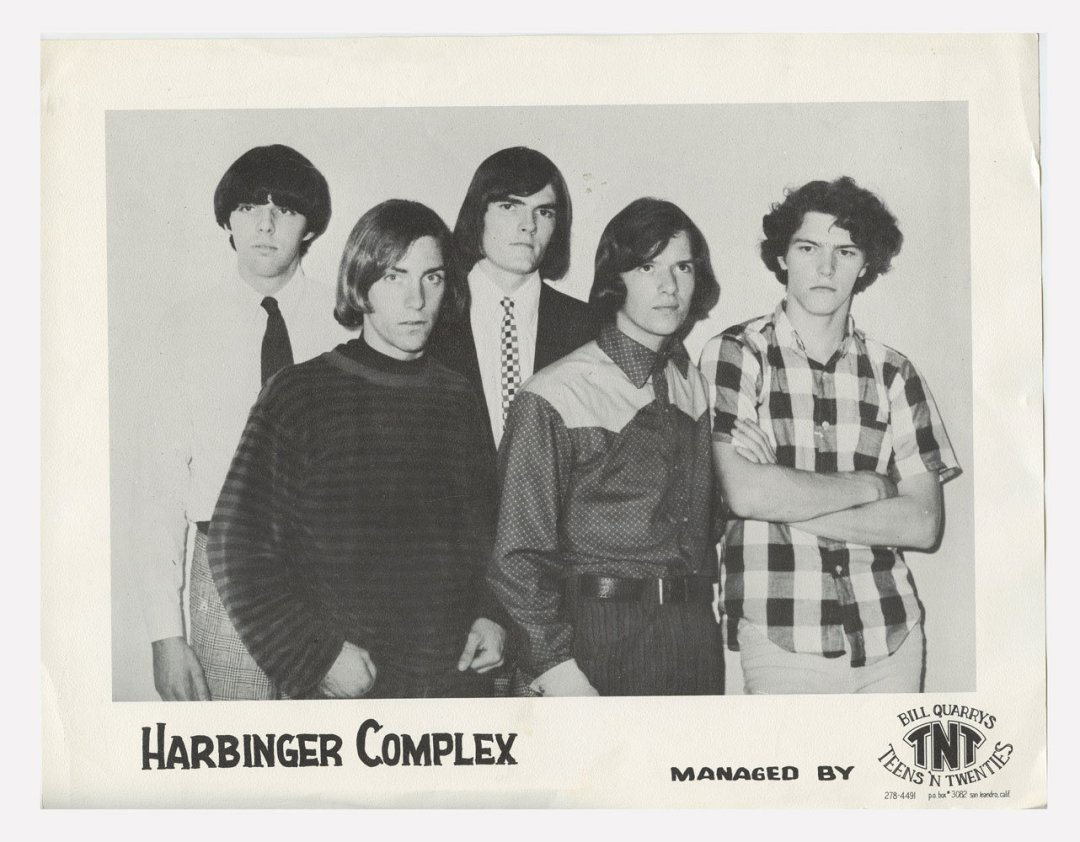 Harbinger Complex Photo 1966 Publicity Promo Bill Quarry Teens 'N Twenties