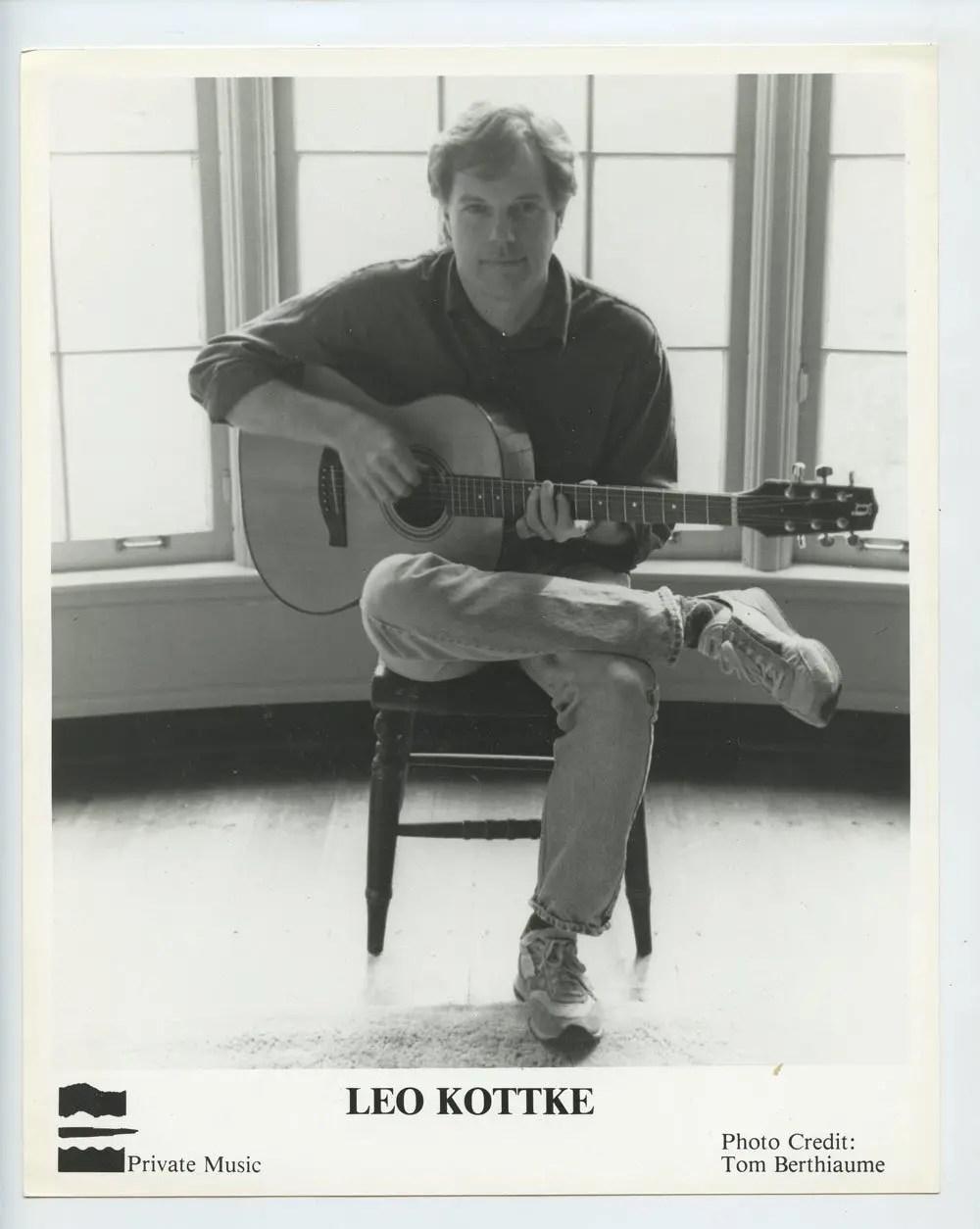 Leo Kottke Photo 1986 Publicity Promo Private Music