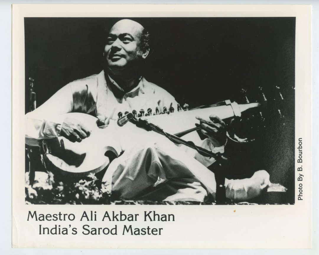 Ali Akbar Khan Photo 1987 Sep 13 San Francisco War Memorial and Performing Art Center