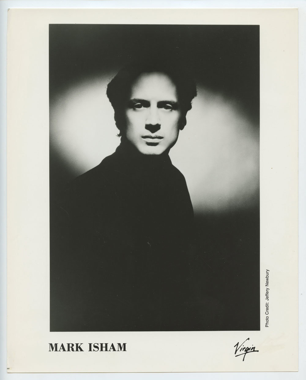 Mark Isham Photo 1988 Publicity Promo Virgin Records
