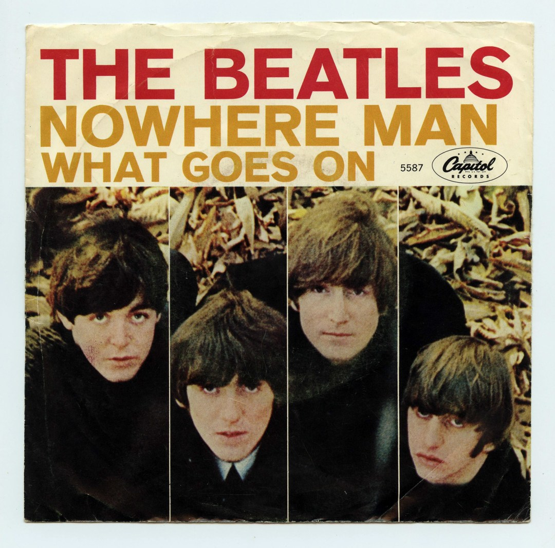The Beatles Vinyl Nowhere Man / What Goes On 1966