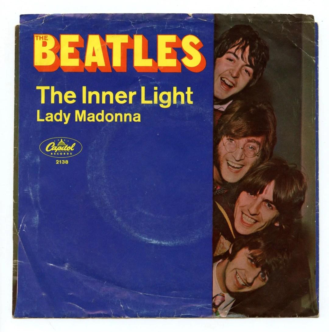 The Beatles Vinyl Lady Madonna / The Inner Light 1968