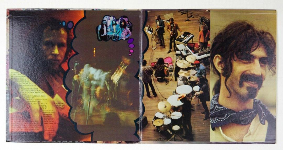 Frank Zappa The Mothers Of Invention Vinyl Burnt Weeny Sandwich 1970