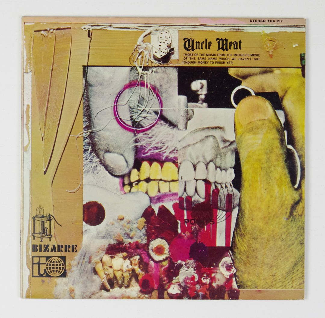 Frank Zappa The Mothers Of Invention Vinyl Uncle Meat 1968 UK pressing