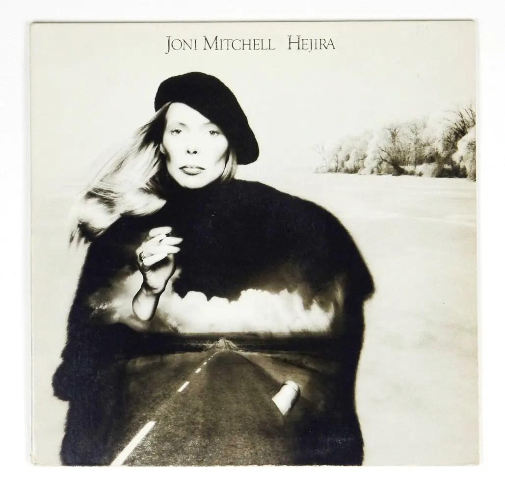 Joni Mitchell Vinyl Hejira 1974