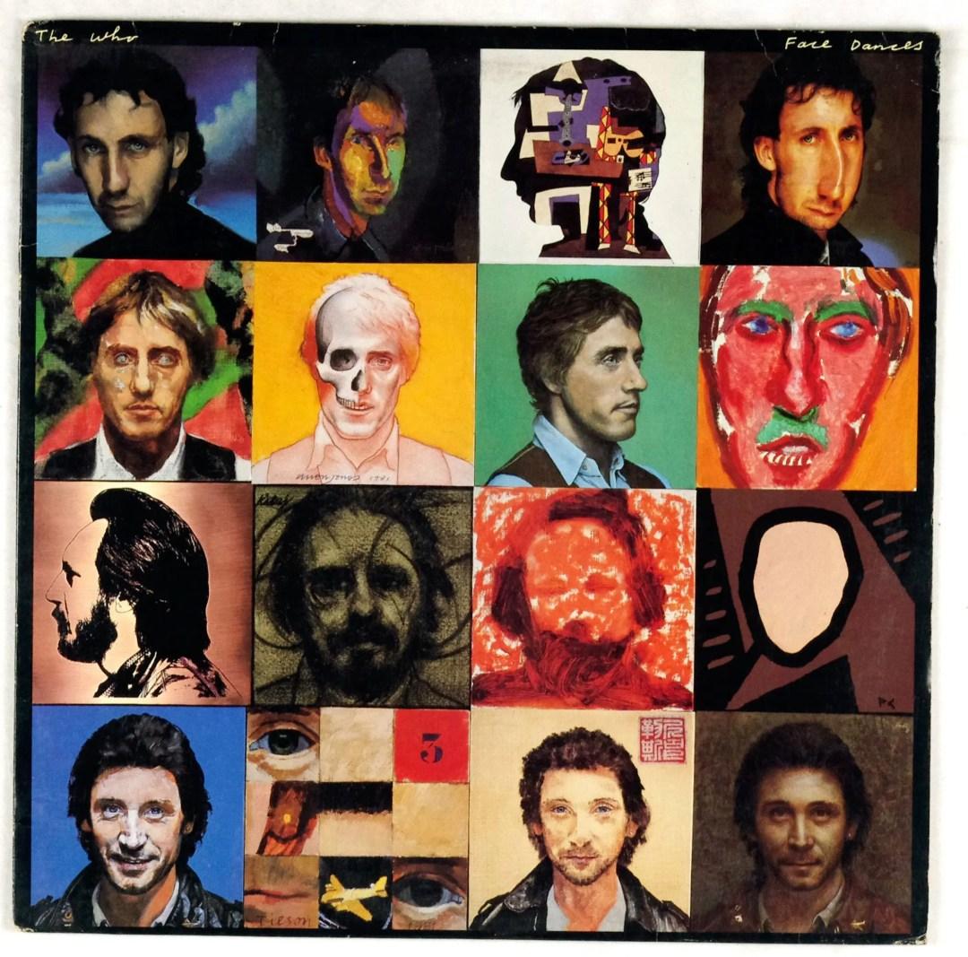 The Who Vinyl Face Dances 1981 w/ 24x24 Poster